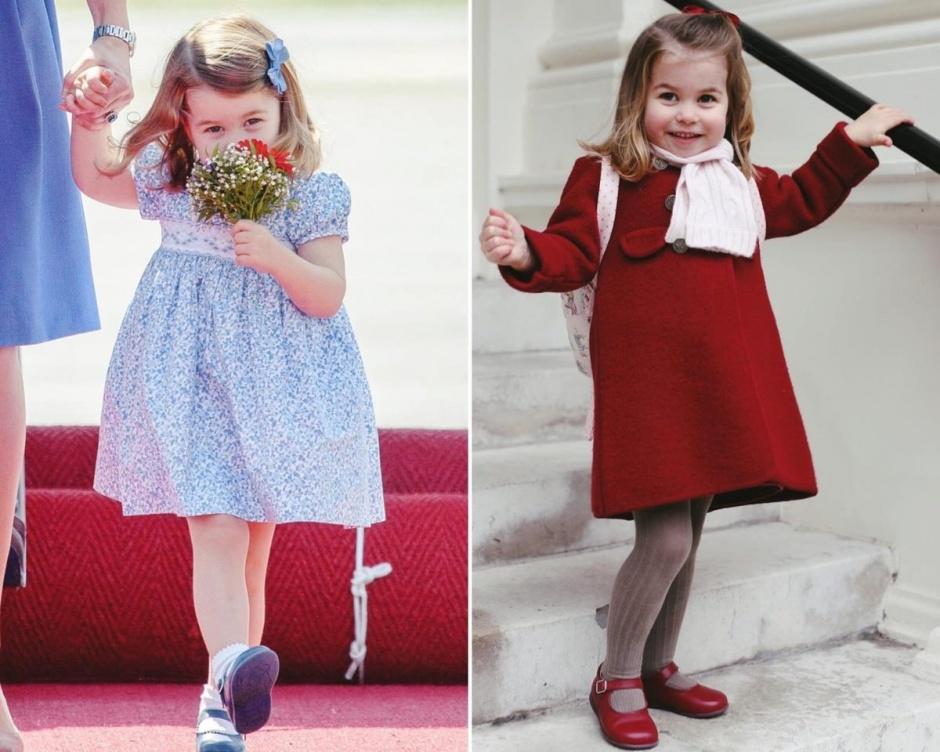 Принцессе Шарлотте нравится быть принцессой, у нее уже есть «игрушечная тиара»