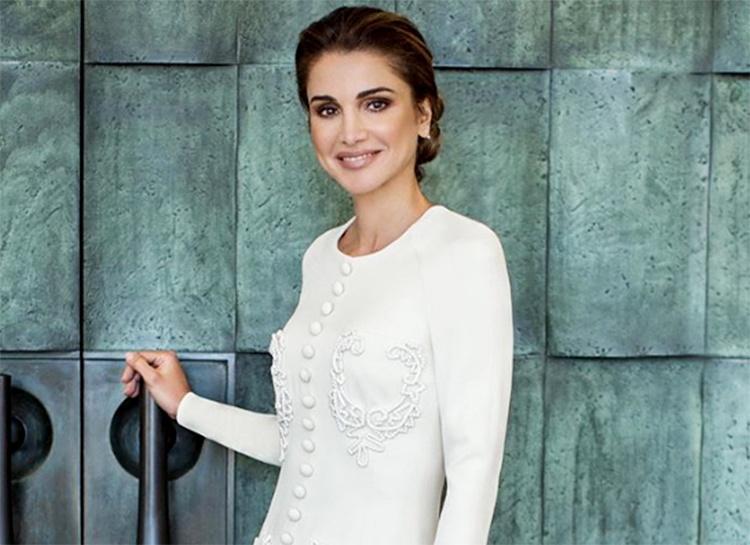 Представлен новый портрет королевы Рании по случаю ее 50-летия