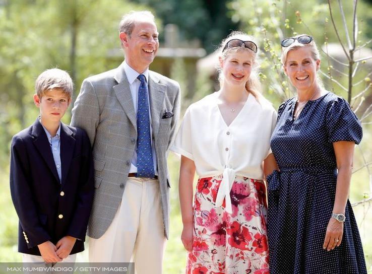 Софи, графиня Уэссекс, говорит, что ее двое детей