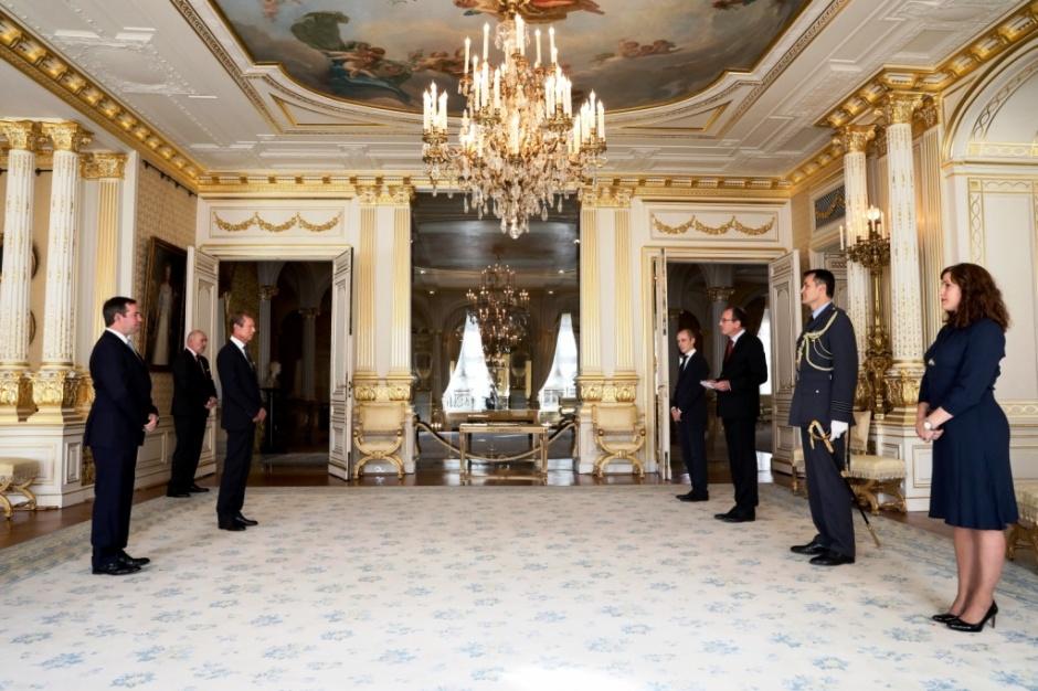 Награды Великому Герцогу Люксембурга Анри и наследному Великому Герцогу Гийому