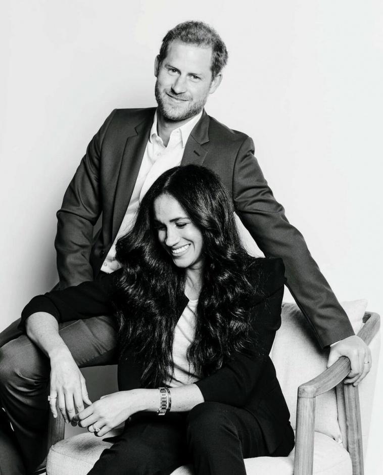 Подражание стилю Кейт: Меган и Гарри представили новые фото в честь предстоящей конференции Time 100