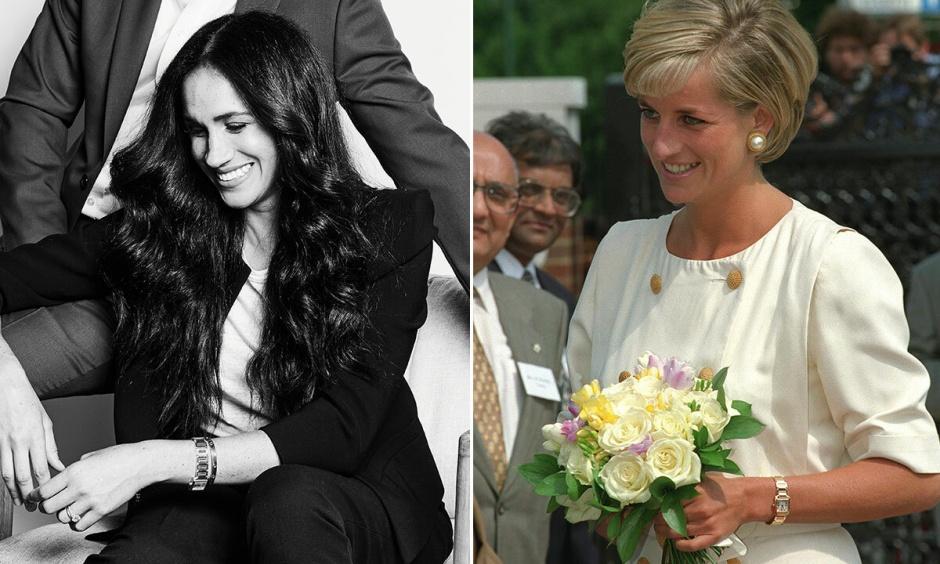На руке Меган Маркл заметили часы принцессы Дианы: реакция в Сети