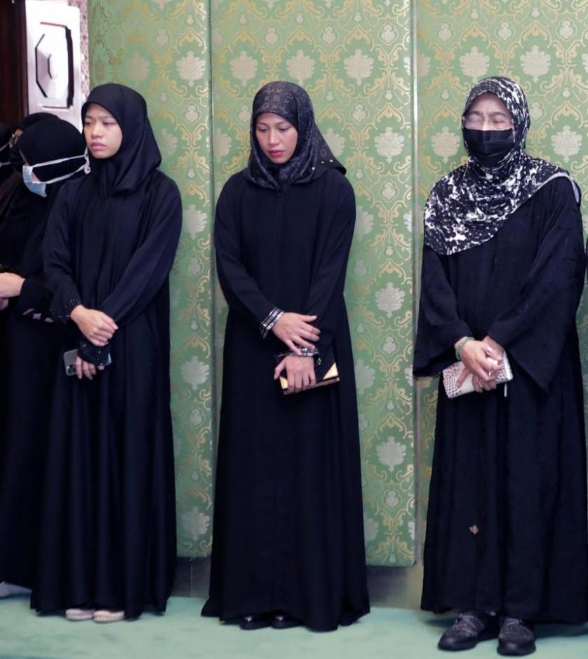 Похороны сына султана Брунея