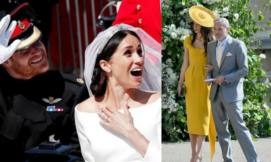 Меган и Гарри снова обидели: на свадьбе Сассекских Джордж и Амаль Клуни признались, что не знакомы с ними
