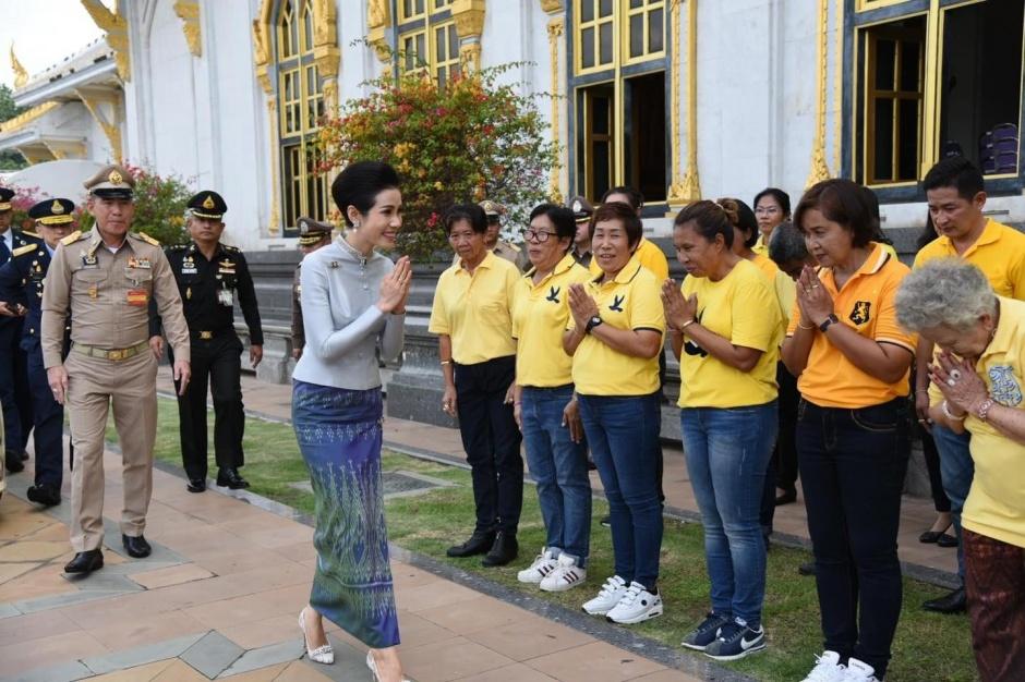 Наложница короля Таиланда вновь обрела статус и положение