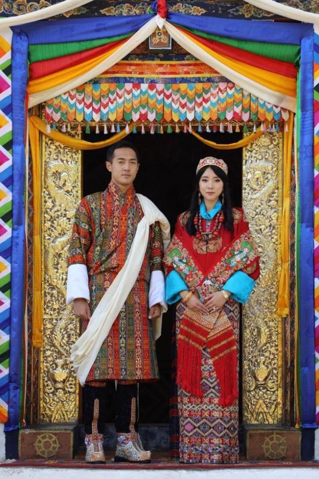 Королевская свадьба в Бутане
