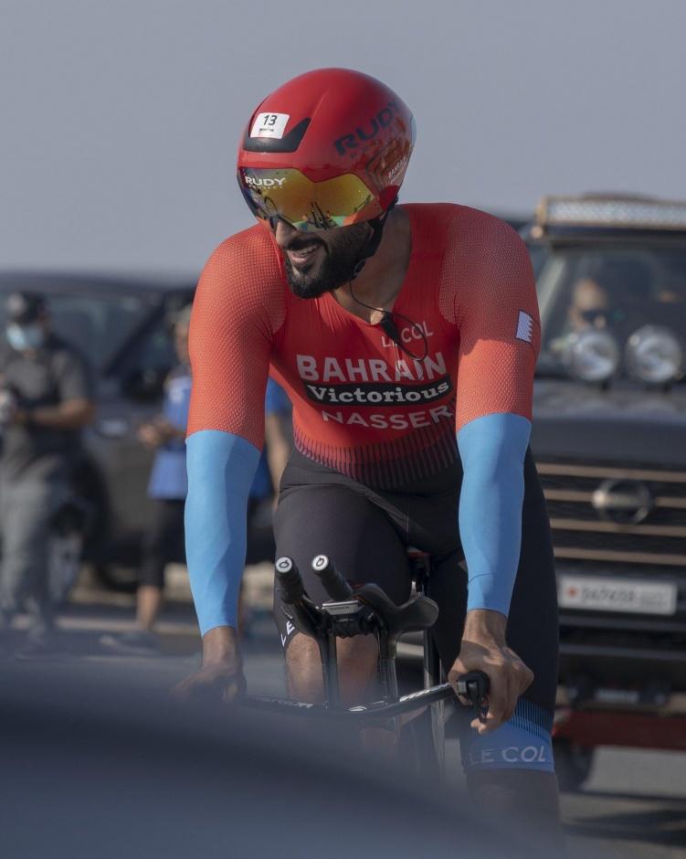 Принц Бахрейна стал первым в велогонке