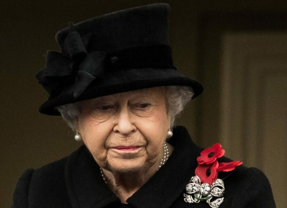 Королева Елизавета в трауре из-за смерти кузины