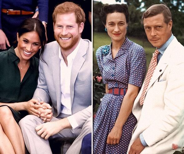 «Они все разрушают»: принц Филипп сравнил Меган Маркл с Уоллис Симпсон из-за которой Эдуард VIII отрекся от престола