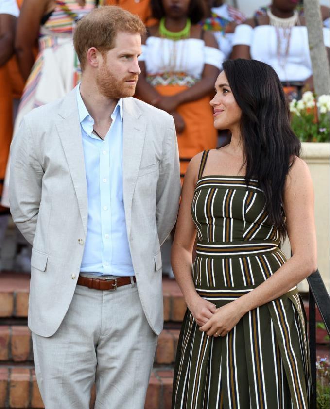 Как принц Гарри и Меган Маркл провели свой первый День благодарения в Калифорнии