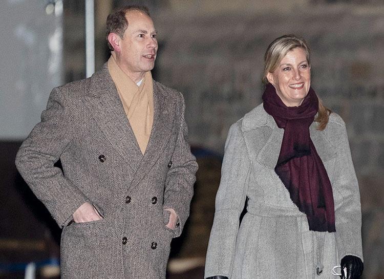 Принц Эдвард и графиня Софи впервые вышли в свет после сообщений о его романе с реалити-звездой