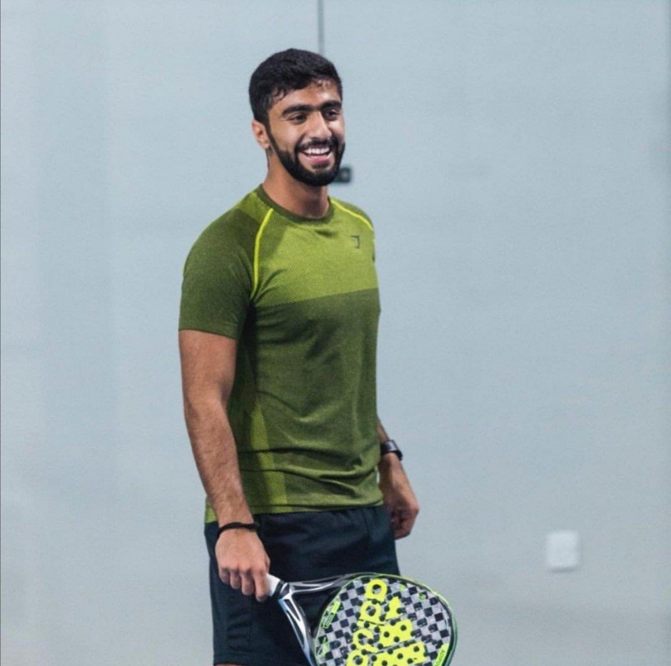 Шейх Рашид бин Аммар аль-Нуайми на турнире в Дубае