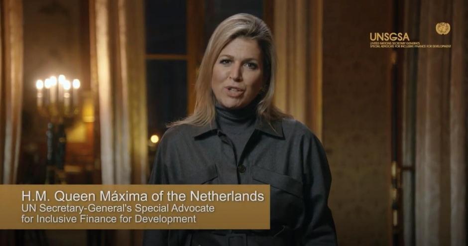 Королева Максима поделилась виртуальным посланием к празднованию 60-летия ОЭСР