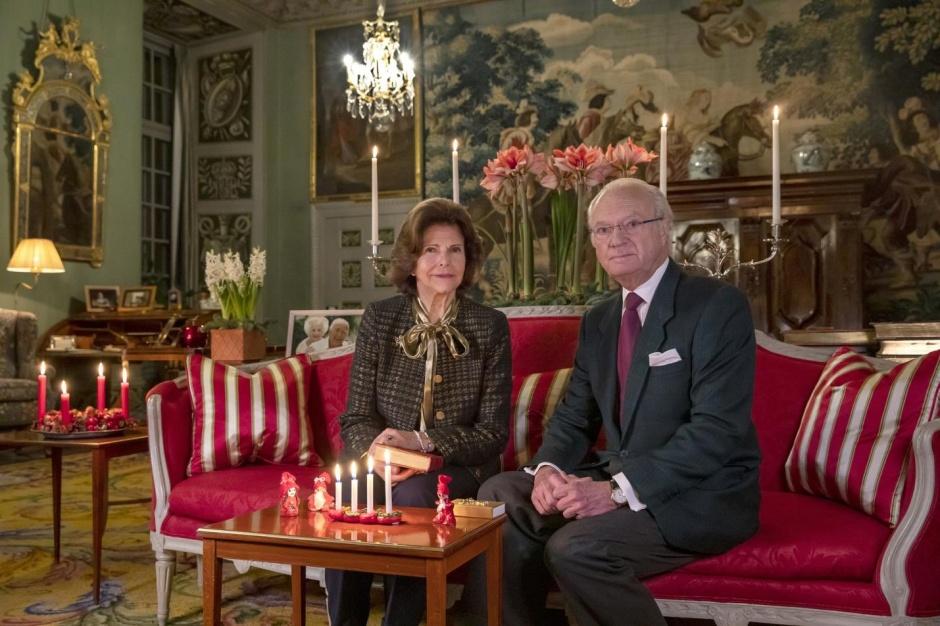Новое фото короля и королевы Швеции