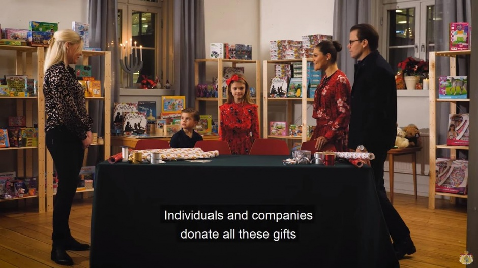 Помощь кронпринцессы Швеции и ее семьи