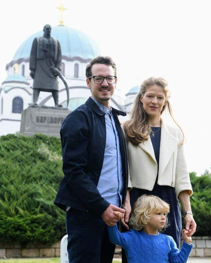 Послание Принца Филиппа и принцессы Даники Сербских