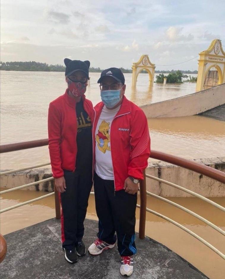 Наследный принц малайзийского штата Келантан с супругой посетили столицу штата Кота Бару