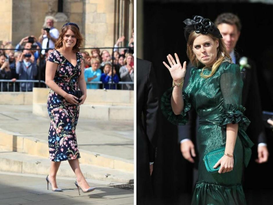 Принцессы Евгения и Беатрис побывали на очередной свадьбе