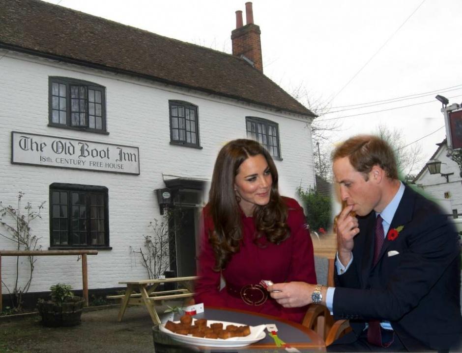 В каком пабе обедают принц Уильям и Кейт Миддлтон с детьми