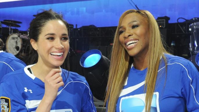 Меган Маркл улетела в Нью-Йорк поддержать Серену Уильямс в финале US Open