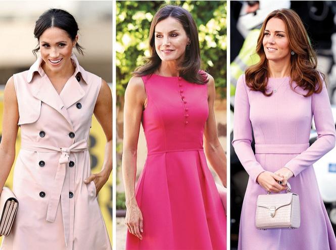 Royal pink: как королевские особы носят розовый цвет