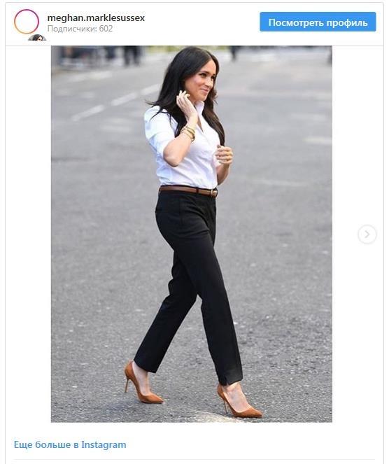 Меган Маркл появилась на запуске капсульной коллекции одежды