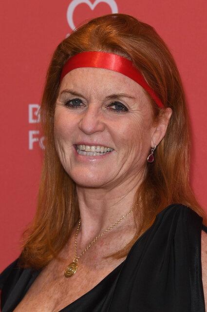 Сара Фергюсон посетила благотворительный вечер в Лондоне