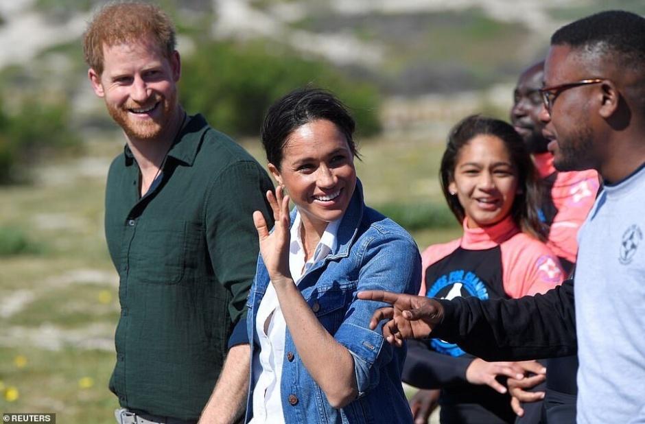 СМИ: сыну принца Гарри Арчи дали новое южноафриканское имя