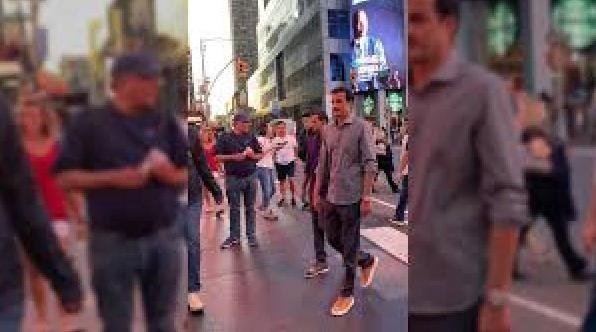 Эмира Катара встретили прогуливающимся по улицам Нью-Йорка
