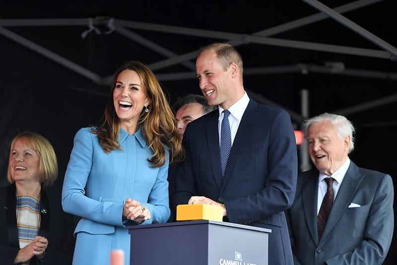 Сассекские в Африке, будущие короли в Англии: новый выход Кейт и Уильяма