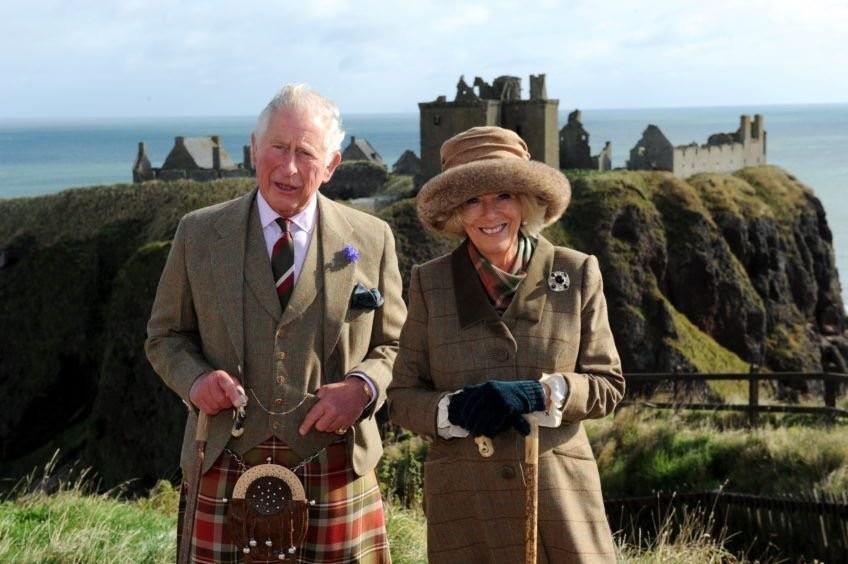 Принц Чарльз и герцогиня Камилла в Абердиншире