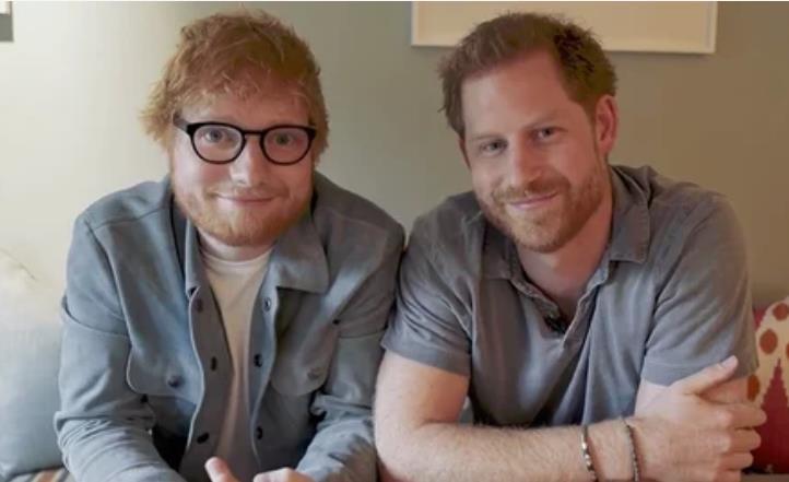 Рыжие объединились: принц Гарри и Эд Ширан сняли забавное видео