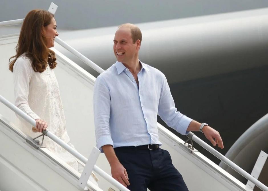 Принц Уильям и Кейт Миддлтон в Лахоре: фото и видео