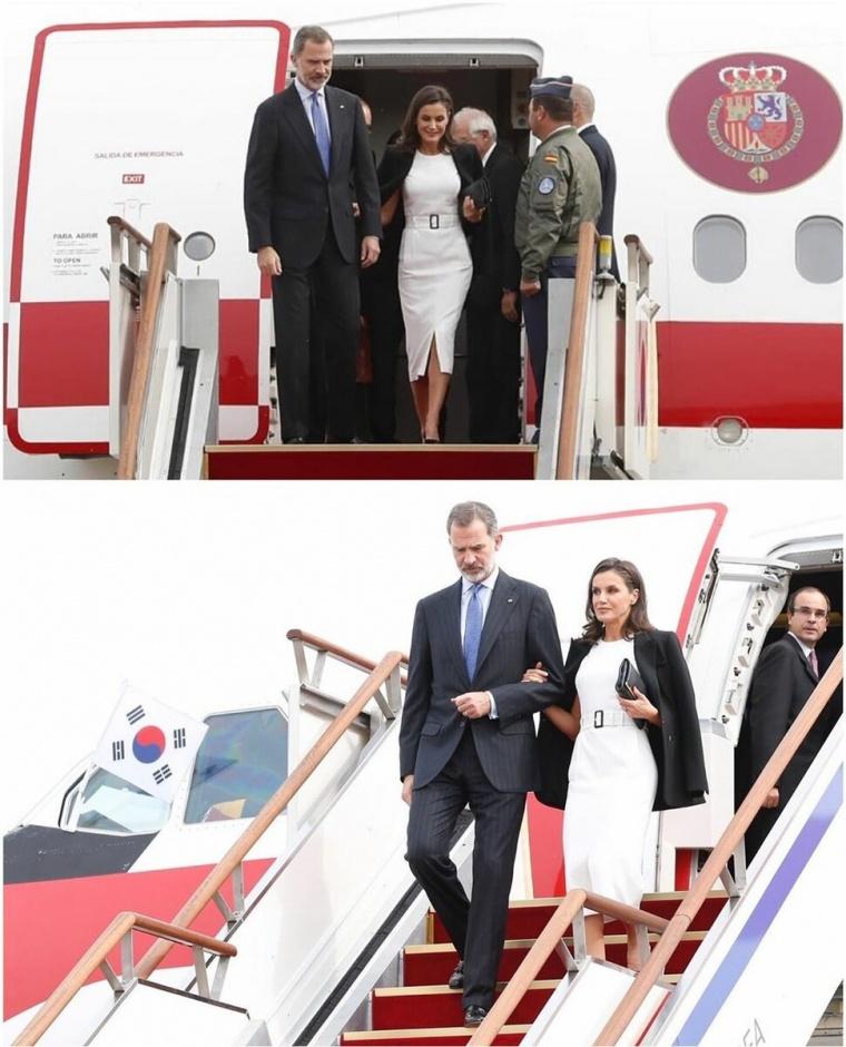 Король и королева Испании с официальным визитом в Южной Корее: день первый