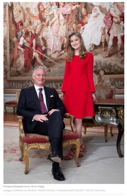 Принцессе Елизавете - будущей королеве Бельгии - 18 лет, или Как по-английски будет