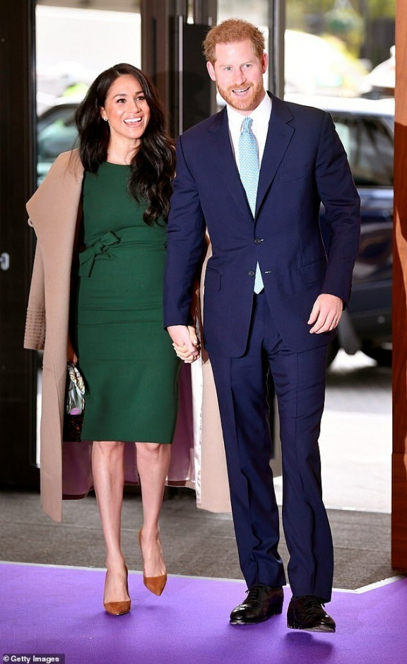 Меган Маркл, принц Гарри и Камилла появятся вместе впервые