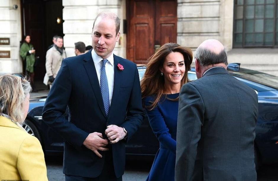 Принц Уильям и Кейт Миддлтон посетили Церковь Святого Мартина «что в полях»