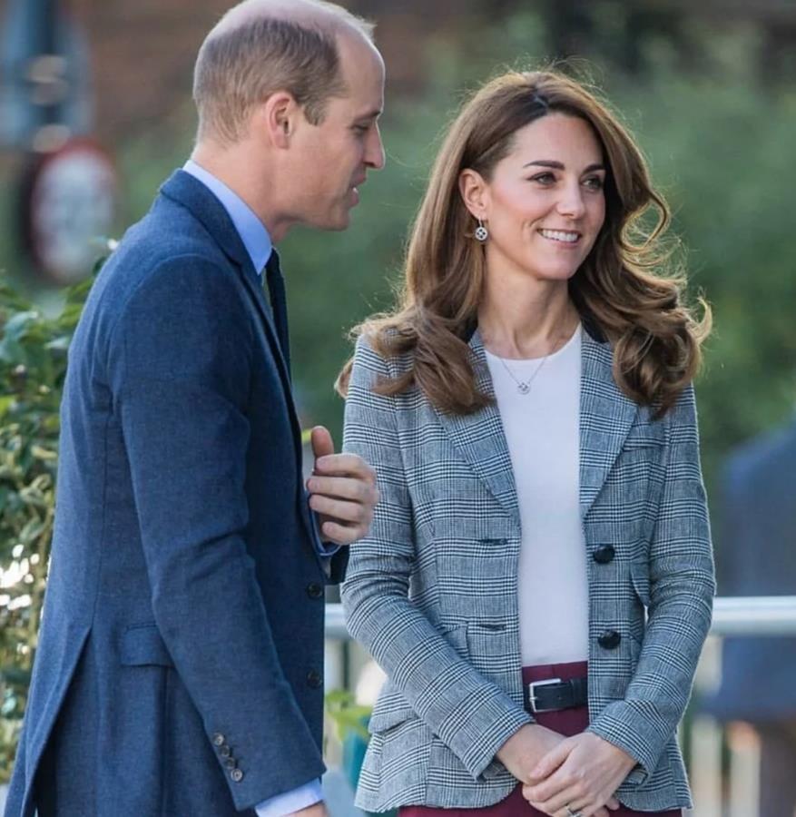 Принц Уильям отдал должное Гарри и Меган на встрече с волонтерами в Лондоне