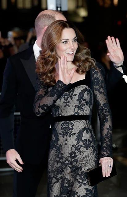 Узорный покров: новый выход принца Уильяма и герцогини Кейт