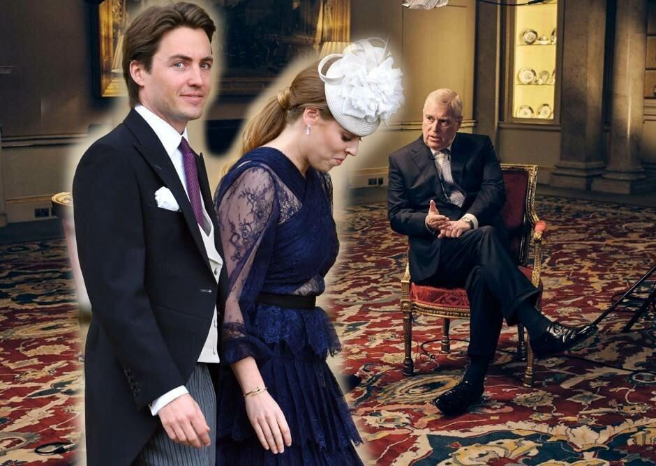 Принцесса Беатрис и ее жених посетили опального принца Эндрю