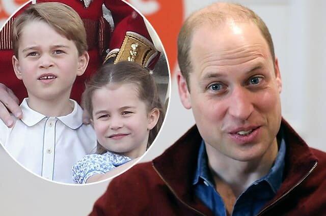 Принц Уильям рассказал о спортивных успехах своих детей