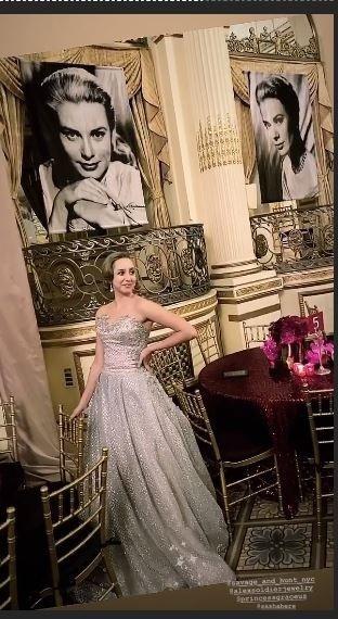 Внучка легендарной Грейс Келли выбрала для церемонии награждения образ диснеевской принцессы