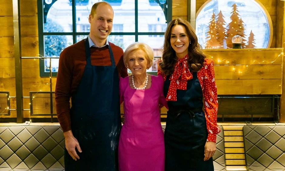 Принц Уильям и Кейт Миддлтон приготовили рождественский ужин для социальных работников