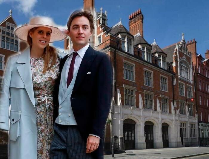 Принцесса Беатрис и Эдоардо Моцци устроят предсвадебную вечеринку в престижном клубе Лондона