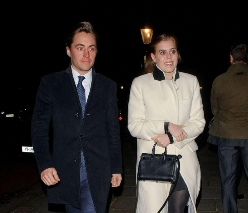 Принцесса Беатрис и ее жених посетили рождественскую вечеринку магната Евгения Лебедева