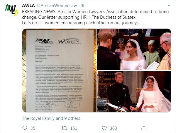 Очередное письмо в поддержку Меган: герцогине Сассекской внезапно напомнили о роли Рэйчел Зейн