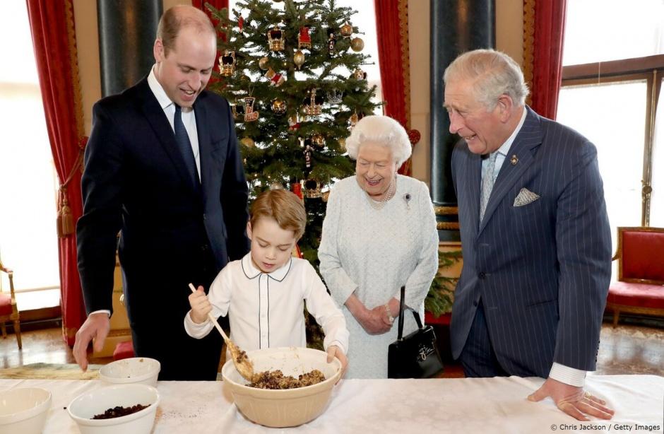 Связь поколений: приготовление пудинга и новое официальное мероприятие принца Джорджа!