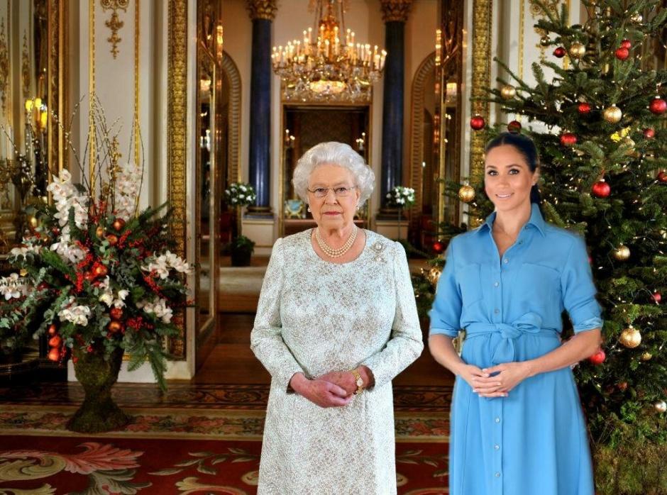 Что Меган Маркл подарила королеве на первое совместное Рождество