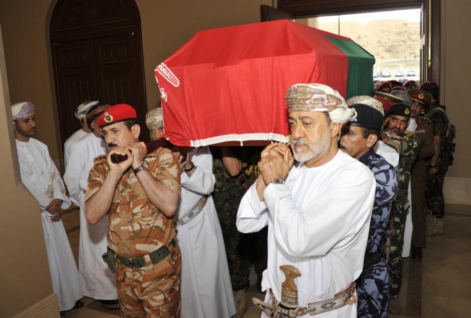 Весь мир скорбит по поводу смерти султана Омана