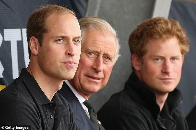 Принц Чарльз и Филипп вся их боль: